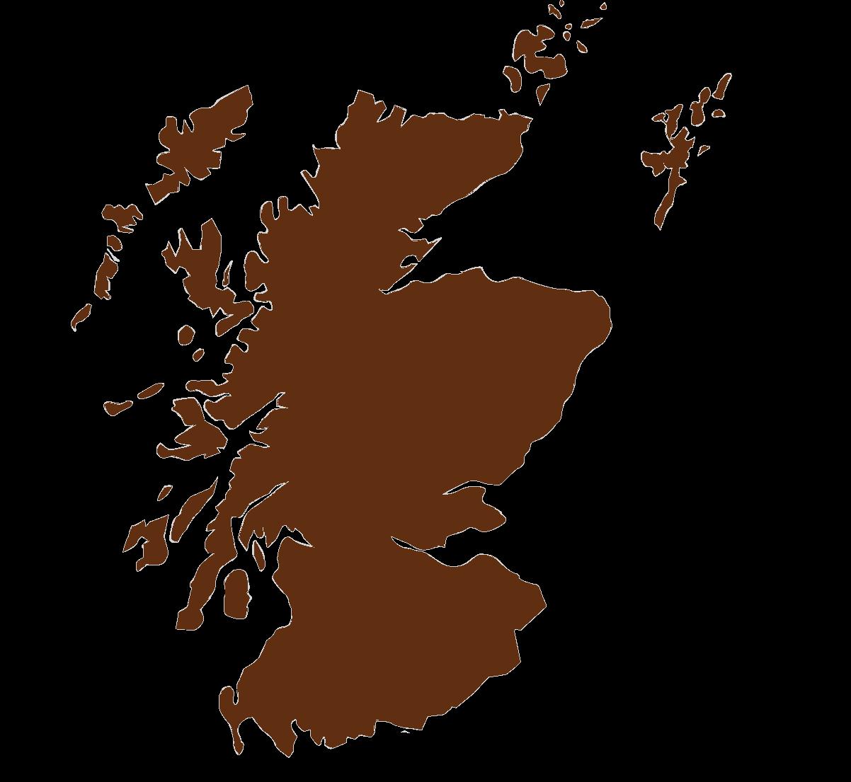 Schottland Karte Highlands.Reisen Mit Hund Highlands Schottland